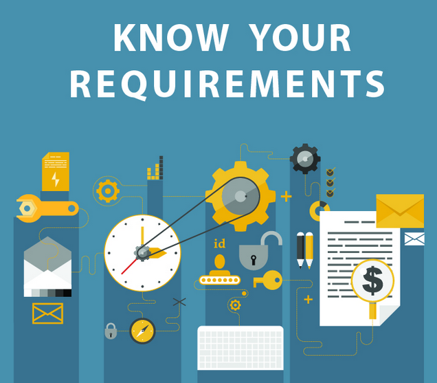 Know What Your App Requirements Are