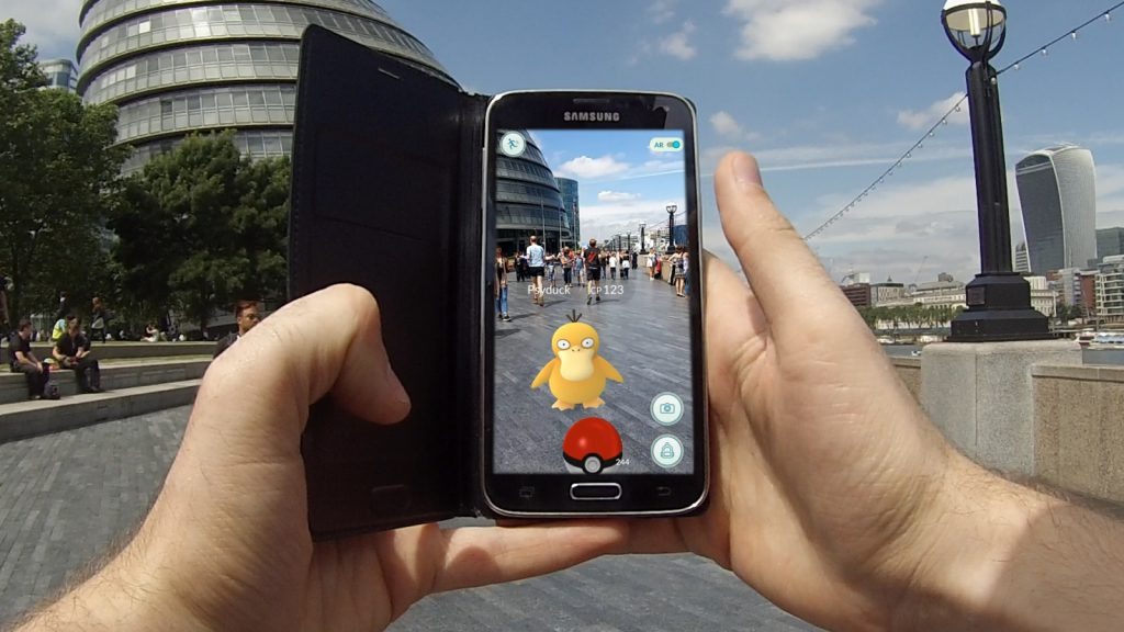Augumented Rality of Pokemon Go by TechDu