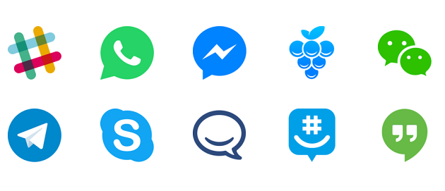 Chat Apps Icons - TechDu