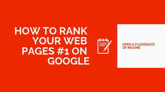 How To Rank Your Web Pages on Google